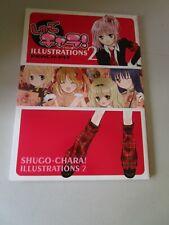 Anime Manga Shugo Chara! Illustrations 2 Art Book Japan Kodansha Peach-Pit Amu