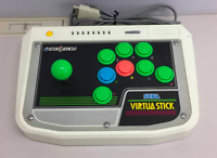 Virtua Stick controller HSS-0136 Sega Saturn Japan retro video game Joystick