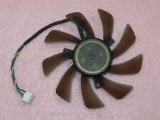 85mm ATI NVIDIA ASUS Sapphire XFX Fan Replacement height-15mm holes-39mm R51