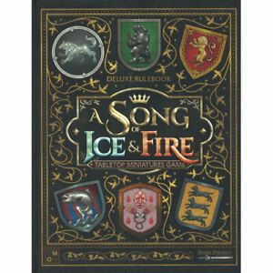 A Song of Ice & Fire: Deluxe Rulebook (Hardcover)