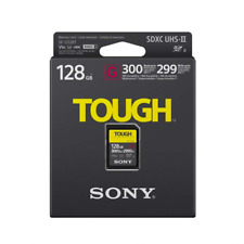 Sony Tough SDXC UHS-II SD Memory Card Up To 300MB/s - 128GB