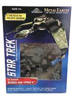 Metal Earth Star Trek Klingon Bird of Prey Ship Laser Cut 3D Model (BB4)