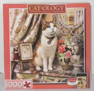 MasterPieces 1000 Piece Jigsaw Puzzle Catology BARTHOLOMEW Cat Geoffrey Tristram