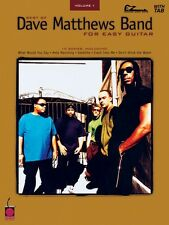 Best of Dave Matthews Band for Easy Guitar Sheet Music Easy Guitar 002500315