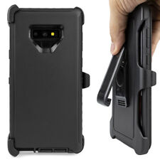 Cell Phone Case For Samsung Galaxy Note 9 With Belt Clip Dust Proof Black Cover