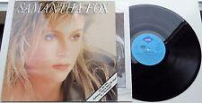 41D Samantha Fox s/t (6.26531) German LP + OIS, jive 1987