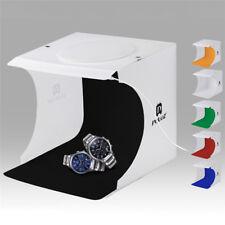 LED Light Room Photo Studio Photography Lighting Tent Backdrop Cube Box