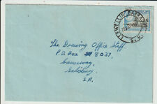 "RHODESIA - "" LLEWELLIN BARRACKS S.R."" 1961 COVER"