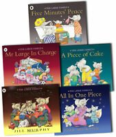 Large Family Collection Jill Murphy 5 Books Set A Piece of Cake, Quiet Night in