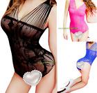 Bodystocking Stocking Body Mesh Leotard Women Romper Lingerie Jumpsuit Bodysuit