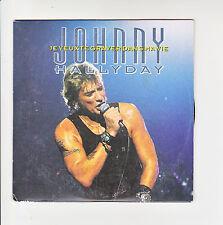 Johnny HALLYDAY CD 12cm JE VEUX TE GRAVER DANS MA VIE -BLUE SUEDE SHOES F Rèduit