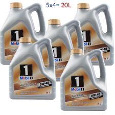 Sucesor de vida nueva de aceite 20L del motor móvil 1 FS 0W-40 5 x 4 L = 20 litros.