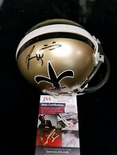 Ricky Williams Signed New Orleans Saints Mini Helmet JSA Authenticated
