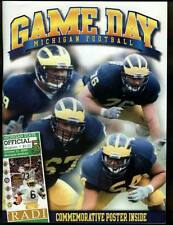 University of Michigan Football Program 2000 Michigan State MSU Spartans