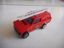Majorette Range Rover District 9 Fire Dept. in Red