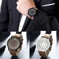 Luxury Men's Fashion Date Sport Analog Stainless Steel Quartz Dial Dress Watch