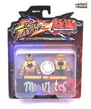 Street Fighter X Tekken Minimates TRU Toys R Us Series 1 Zangief vs Marduk