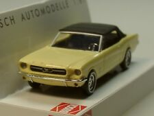 Busch Ford Mustang Cabrio Softtop, 1964, hellgelb - 47524 - 1:87