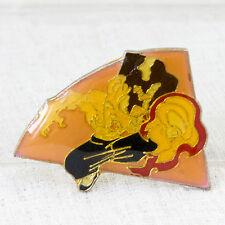 Street Fighter 2 Metal Pins Badge Fei Long Capcom Character JAPAN GAME 2