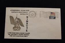 SPACE COVER 1972 MACHINE CANCEL NIMBUS-E ATMOS OCEAN SURFACE MONITOR LAU (4463)
