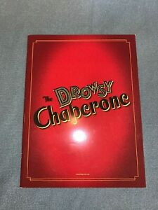 """Souvenir Program from Broadway musical """"The Drowsy Chaperone"""""""