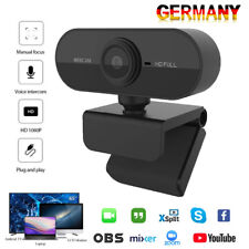 HD Webcam 1080P Kamera USB 3.0 2.0 Mit Mikrofon für PC Laptop Computer Mac DHL