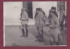 PHOTO PRESSE - 241113 - MILITARIA Guerre - ITALIE Général français MAISTRE EM