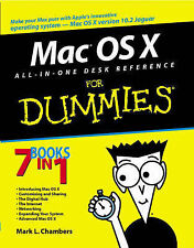 """NEW Mac OS """"X"""" All-in-One Desk Reference For Dummies by Mark L. Chambers"""