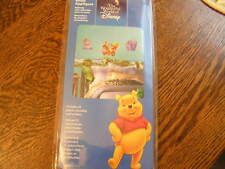 Disney Self-Stick 25+ Pre~Cut Reusable POOH & FRIENDS Room Appliques/Decals~NIP