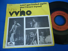 THE WHO - WON´T GET FOOLED AGAIN - ENGLAND 45 FREE SHIPPING