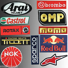 Kart Go Karting,11 Ricamato Tuta Intera Racing Completo Sport Toppe