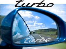 Turbo Sticker Decal Etched Glass Effect for Mirror