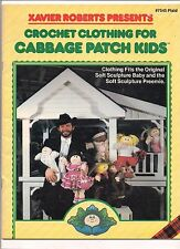 VINTAGE CROCHET CLOTHING FOR CABBAGE PATCH KIDS PATTERN BOOKLET--1982