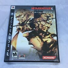 Metal Gear Solid 4: Guns of the Patriots: Limited Edition PS3 Brand New Sealed