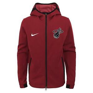 Nike NBA Youth Miami Heat Showtime Full Zip Hoodie