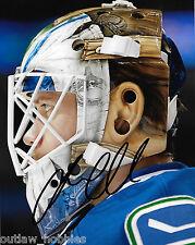 Vancouver Canucks Jacob Markstrom Signed Autographed 8x10 NHL Photo COA J