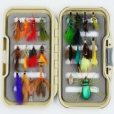 Flyafish Classic Dry and Wet Fly Lure Bass Bait Lure Stream Trout Fishing