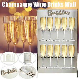 DIY Bubbles Champagne Wine Drinks Wall Stand Birthday Party Wedding Stand