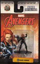 Marvel Nano MetalFigs Black Widow Figure MV12 New 2017 Jada Toys