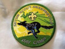 Boy Cub Scout Greenwich Council 2007 Camp Seton Cub Scout Day Camp Patch