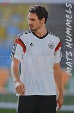 MATS HUMMELS - A3 Poster (ca. 42 x 28 cm) - Fußball Clippings Sammlung NEU