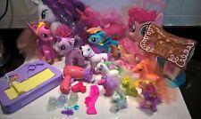 Mi Pequeño Pony Paquete de Cabello Cuidado caso COOL CARDZ Dulce Shoppe Conjunto de Juego Felpa Etc