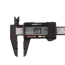 LCD 150MM 6inch Dial Caliper Micrometer Hardware Woodworking Measuring Tool UK
