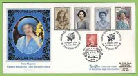 G.B. 1990/95  Queen Mother set on official dual cancel First Day Cover London W1