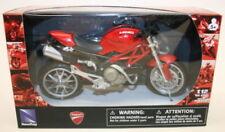 Motocicletas y quads de automodelismo y aeromodelismo New-Ray de plástico de color principal plata