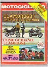 7 1983 MOTOCICLISMO - HONDA CX 650E - VESPA PK 50S - FANTIC SPORT 125 - SWM