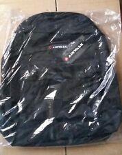 NEW Airwalk Black Backpack Rucksack School Bag Holdall