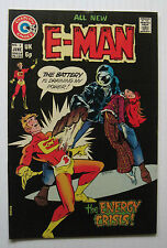 E-Man #3 (Charlton 6/74) VF- /Joe Staton/Wayne Howard-a. Nice!!