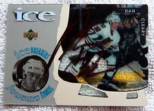Chicago Blackhawks Dan Cleary Signed 1997 Upper Deck McDonalds ICE Card Auto