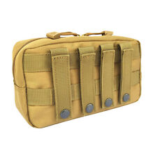 Tactical Molle Utility Pouch Gadget Tool First Aid Backpack Storage Bag -Mud